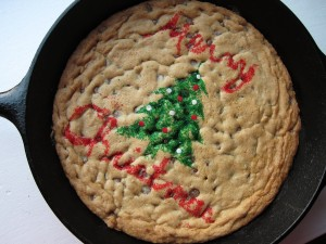 Giant Skillet Choco Chip Cookie