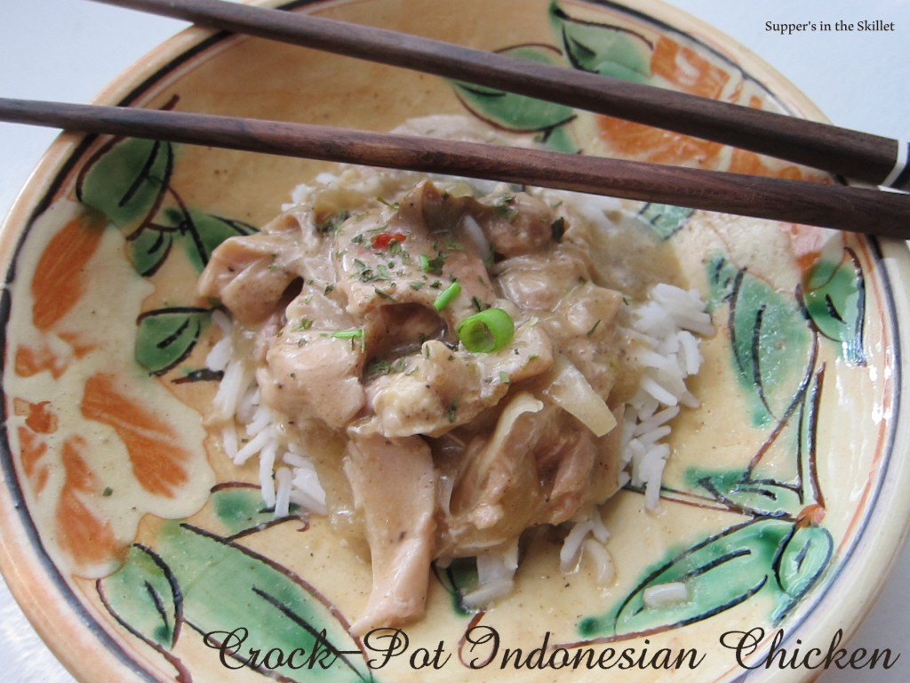 Crockpot Indonesian Chicken 1